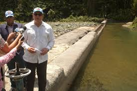 Toma de agua Haina-Manoguayabo