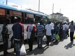 Haitianos se van
