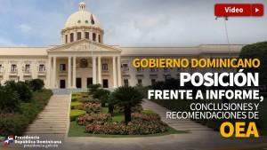 Posiciòn Gobieno informe OEA
