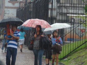 lluvias por onda tropical