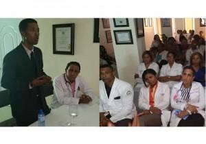 Clemente Terrero orienta médicos sobre dengue