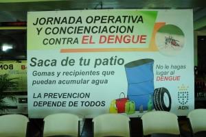 Jornada contra el dengue
