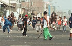 Violencia de pandillas juveniles