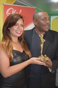 Mayury Reyna y Pedro Guerrero