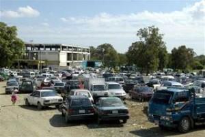 vehículos dejados en el canodromo