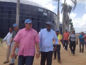 Alcalde SDE visita acueducto