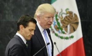 Donald Trump y Peña Nieto