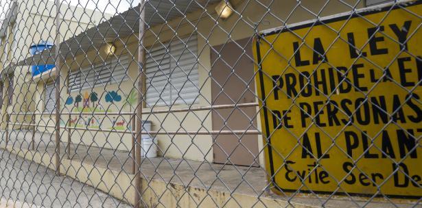 Cierran 179 escuelas en PR