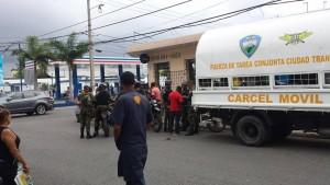 Ciutran arrestas haitianos