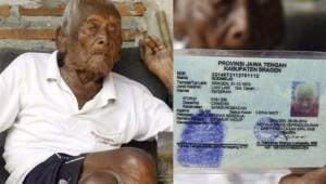 Muere anciano indonesio tenía 146 años