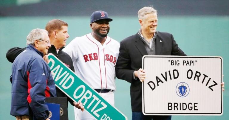 Designan una calle en Boston a David Ortiz