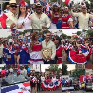 Dominicanos en parada Yonkers
