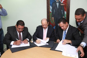 Inabie y Fundación Ramiro García firman acuerdo