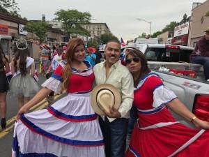 Parada dominicana en Yonkers, Nueva York