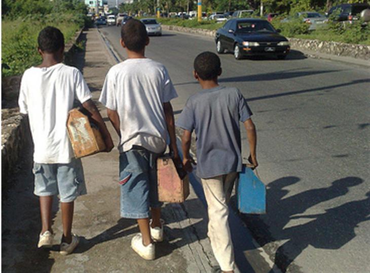 Trabajo infantil en RD