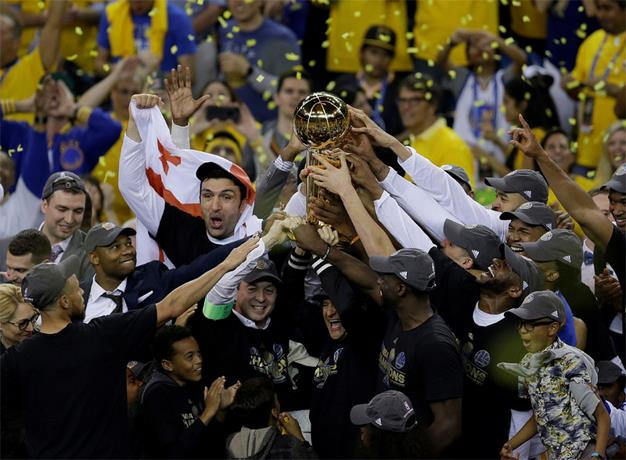 Warriors campeones de la NBA