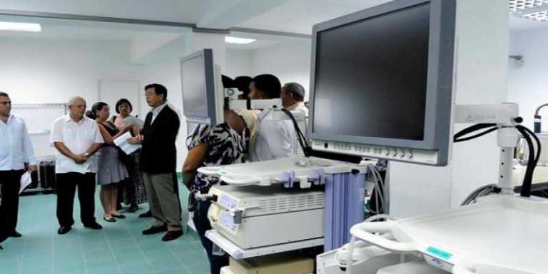 Equipos médicos Cuba