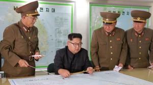 El presidente Kim Jong-Un