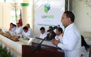 Nicanor Rodriguez, gerente general de Coopsano