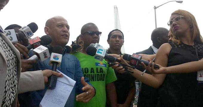 Pablo Estevez dirigentes del Falpo