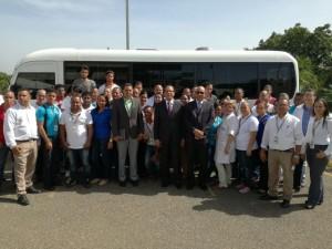 Promes entrega autobuses
