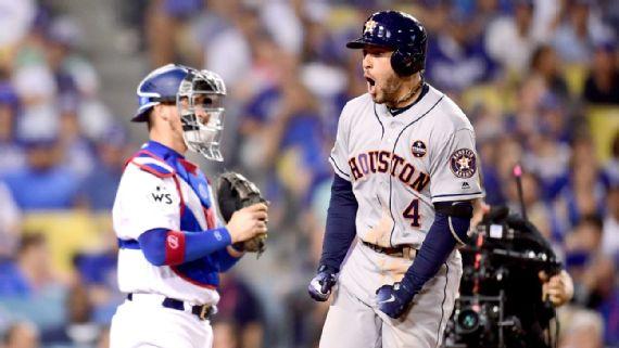 Astros de Houston ganan segundo juego Serie Mundial