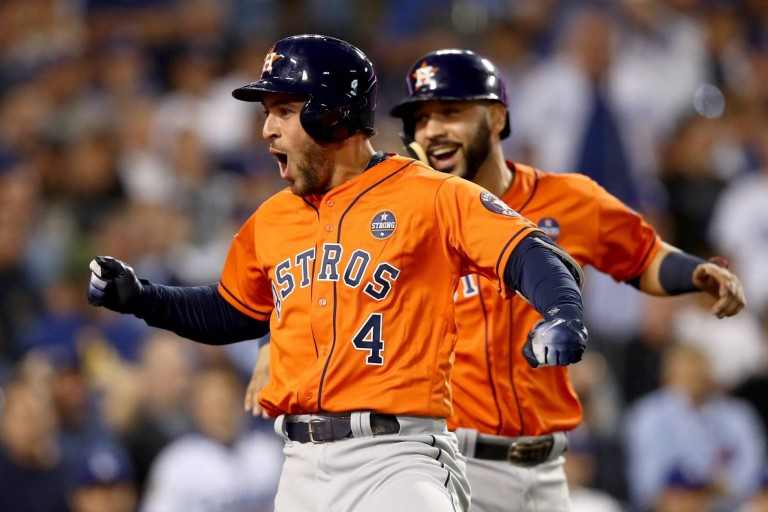 World Series 2017 los Astros de Houston ganan
