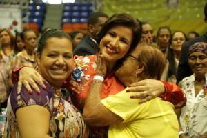 Cedeño presenta logro Prosoli en Santiago