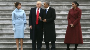 Obama y Tromp