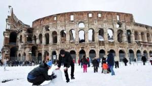 nieve-en-Roma
