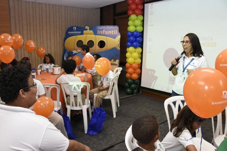 BR ofrece espacio educativo a niños