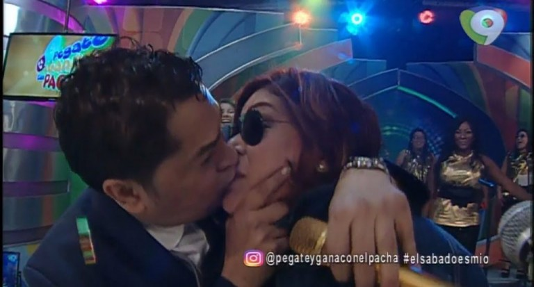 El Pachá besó a Belkis