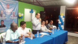 Ingeniero Yovany Moya anuncia candidatura