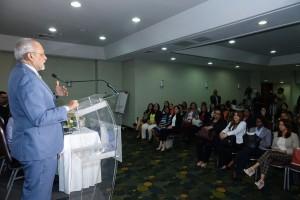 Pedro Luis Castellanos en Taller capacitación Consejeras de Apoto a la Lactancia Materna