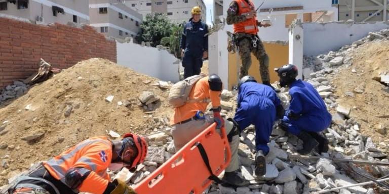 Simulacro terremoto en Santiago