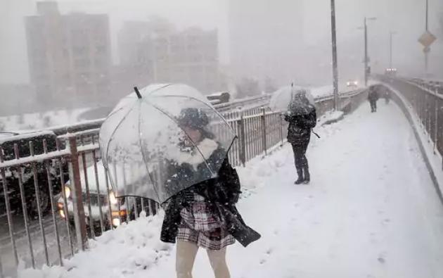 Tormenta de nieve NY