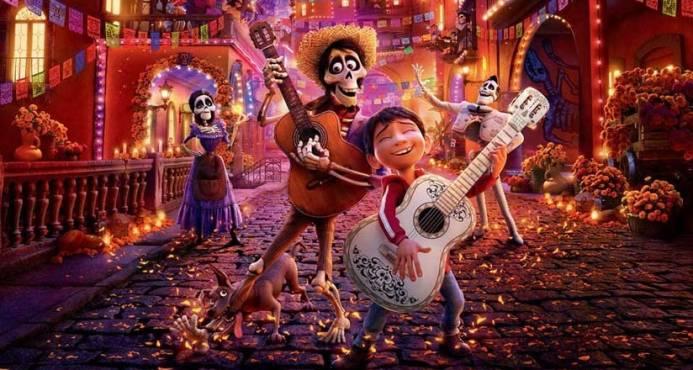 imagen película Coco