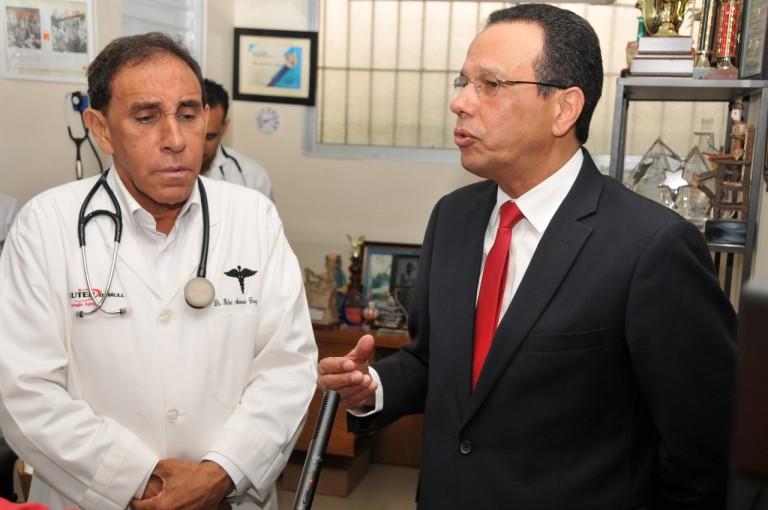 Antonio Peña Mirabal y Antonio Cruz Jiminián
