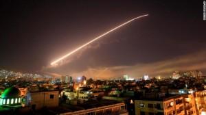 EEUU ataca a Siria 13-04-18