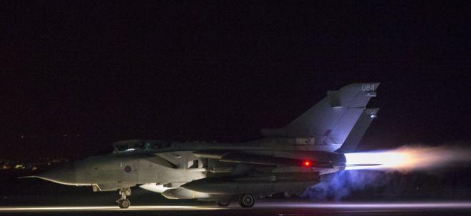 El ataque de EE.UU., a Siría