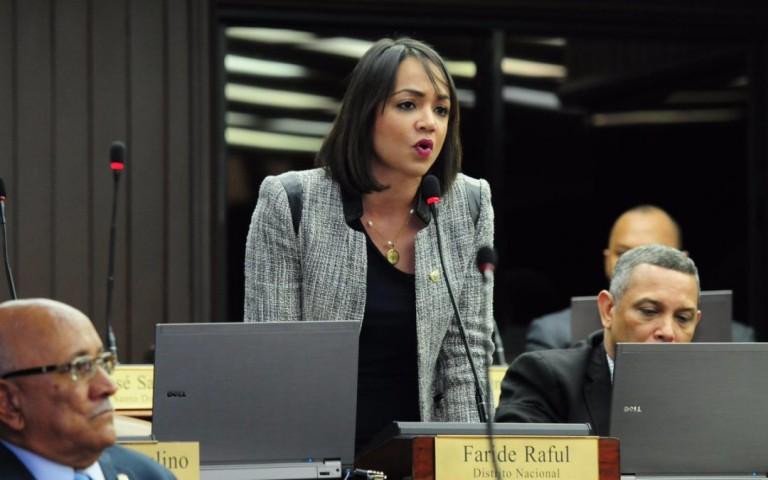 Faride Raful, autora del proyecto de amnistía fiscal
