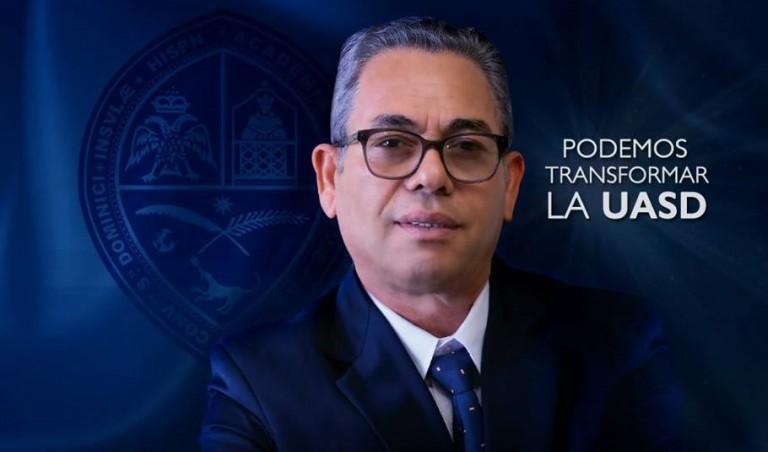 Rafael Morla candidato a rector UASD