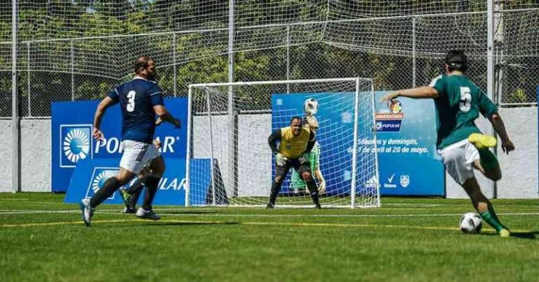Segunda copa futbol Banco Popular
