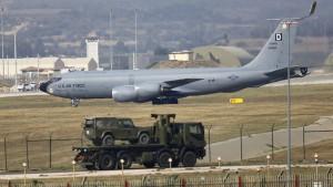El Boeing KC-135R de la Fuerza Aérea estadounidense
