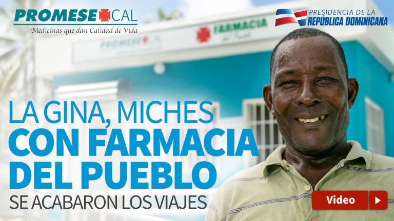 Farmacia del Pueblo, La Gina, Miches