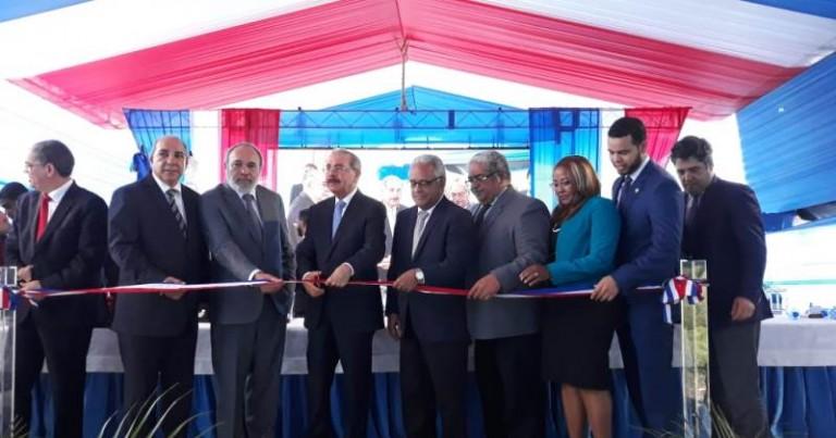 Medina entrega hospital Jamao al Norte