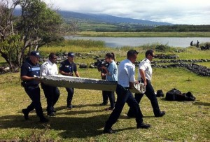 Restos del avión de Malasia desaparecido