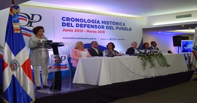 Zoila Martínez presenta memorias de gestión