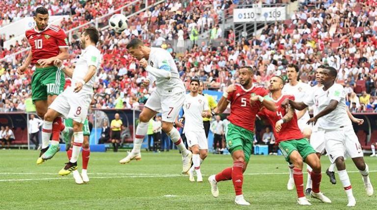 Portugal gana a Marruecos