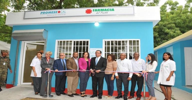 Promese abre farmacia en Los Jovillos